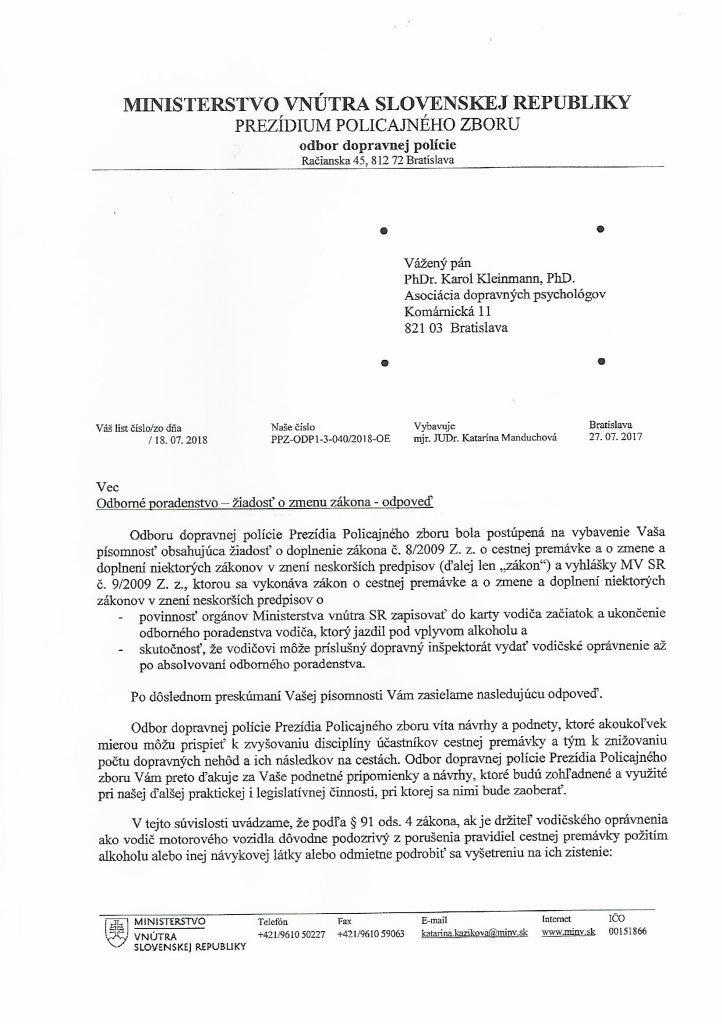 list min. vn. 1
