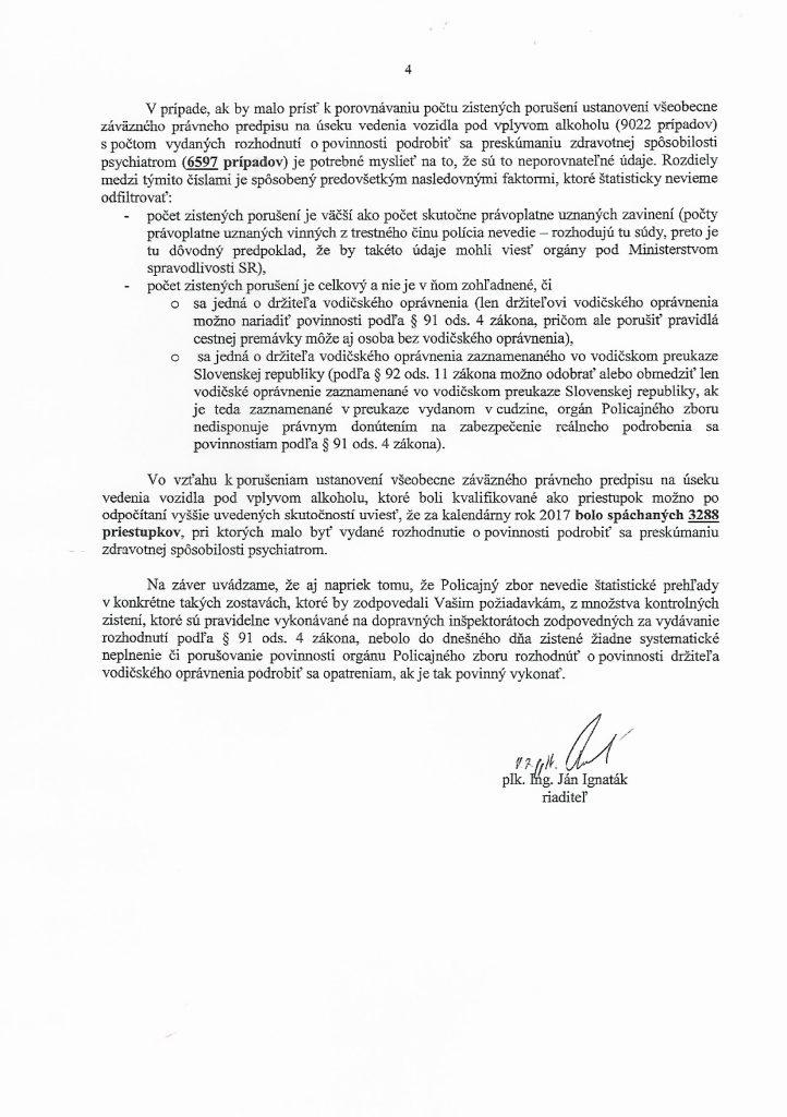 list min. vn. 4